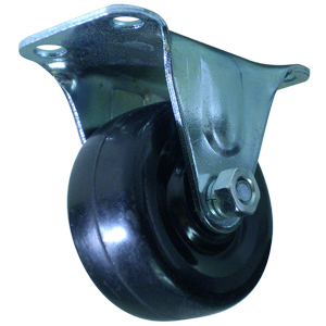 RIG 2'' S.R. PLT **********  - Black - CASTERS