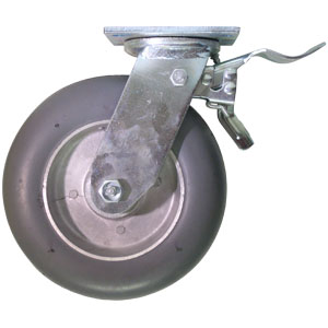 PIV 8x2 GR BAL. PLQ RB TLB2B  - 400 - 499 lb.            ( 182 - 226 kg ) - ROULETTES