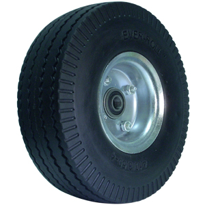 WHL 10'' FLATFREE OFF 5/8 PBB  - - NONE - - WHEELS