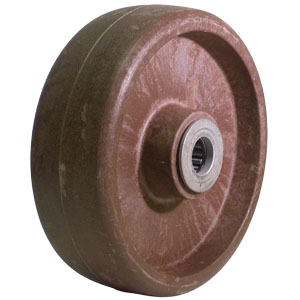 WHL 6x2 HT GL/NY BRN 3/4 RB  - 6 in.             ( 152 mm ) - WHEELS