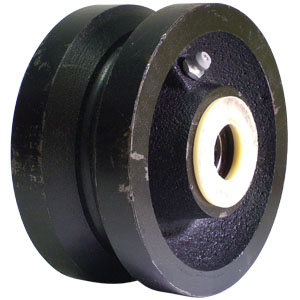 WHL 4x2 CAST VGRVD 3/4 RB  - 3/4 in. Roller Bearing - WHEELS