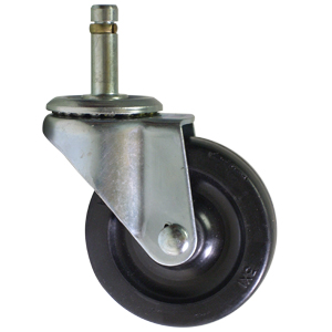 SWL 3x1 RUBB STM 7/16x1 3/8  - 3 in.               ( 76 mm ) - CASTERS