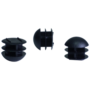 INS RND 1-1/8 (14-23) BLACK DOMED  - INSERTS