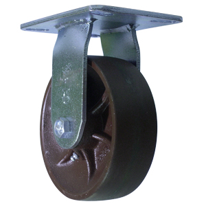 RIG 6x2 DUCT CROWN PLATE RB  - 6 in.             ( 152 mm ) - CASTERS