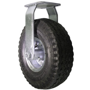 RGD 10'' PNEU PLATE BB  - Ball Bearing (BB) - CASTERS