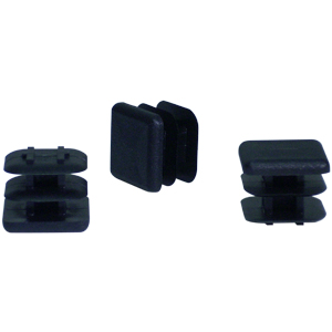 INS 3/4 SQR (14-23) BLACK  - Square Tube - INSERTS