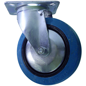 SWL 5x1.25 NEO BLUE PLT RB  - Blue - CASTERS