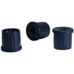 INS RND 1 (16-18) THR 5/16(18) BLACK  - - NONE - - ADAPTERS