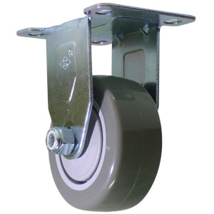 RIG 3x1-1/4 URE/POLYO BB PLT  - 3 in.               ( 76 mm ) - CASTERS