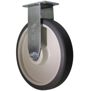 RIG 8x1.5 GR URE/POLYO GR/BGE PLQ BB  - 200 - 299 lb.            ( 91 - 136 kg ) - ROULETTES