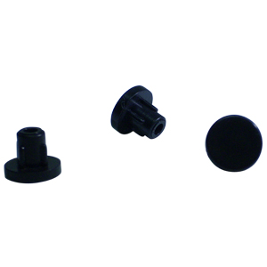 INS BUMPER RND STM DIA 3/8 x 3/8 BLACK  - Bumpers (Chairs)  - MISCELLANEOUS   PRODUCTS