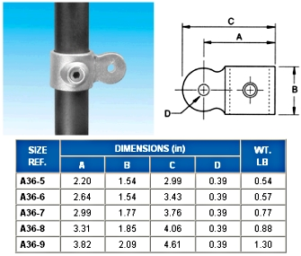 SINGLE SWL SKT MALE  - Swivel Socket  - ALVIN  KEY  CLAMPS